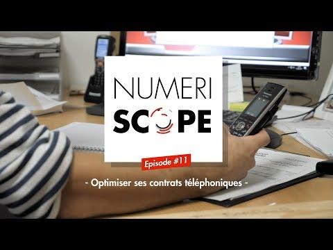 Numériscope #11 Optimiser ses contrats téléphoniques