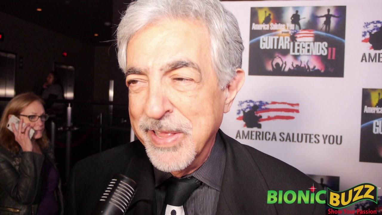 Actor Joe Mantegna Interview at America Salutes You presents Guitar Legends II