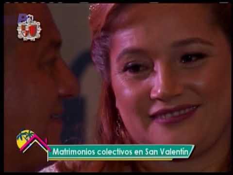Historias para compartir: Matrimonios colectivos en San Valentín