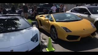 faze rug car. insane car show at sd wrap tanner fox,tanner braungardt, faze rug and jake faze car