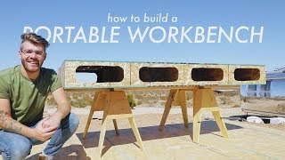 How To Build a Portable Workbench / Assembly Table