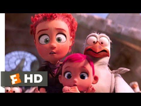 Storks (2016) - Boss Fight Scene (10/10) | Movieclips