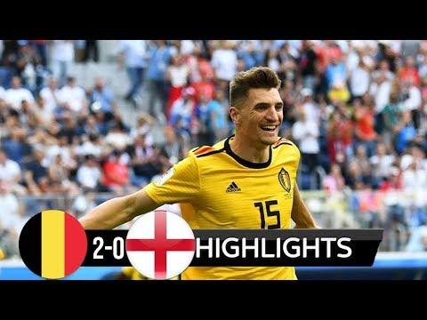 Belgium vs England 2-0 All Goals & Highlights World Cup Russia 2018