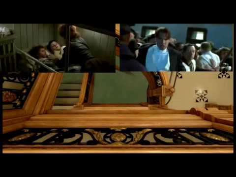 Reel Titanic vs. Real Time Titanic: Collision and SInking Sequences