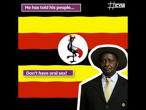 Ugandan president: Don't have oral sex!