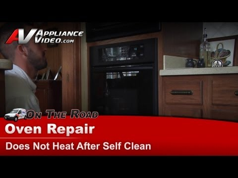 Kitchenaid Wall Oven Repair – Does not heat after self clean – KEBC141KBL03