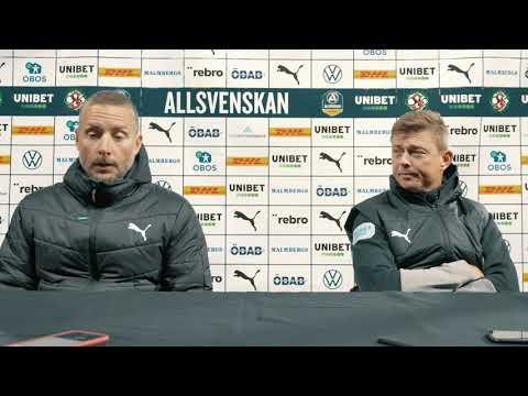 Presskonferens: ÖSK – Malmö FF