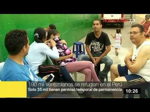 Migraciones: 190 mil venezolanos se refugian en el Perú