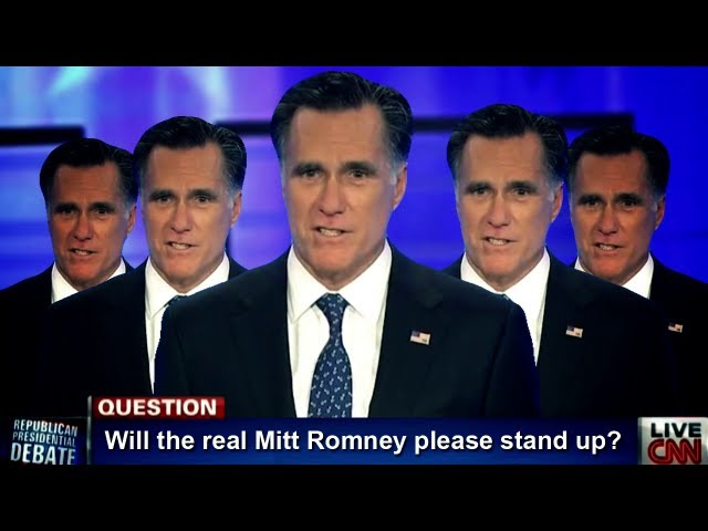 Will the Real Mitt Romney Please Stand Up!