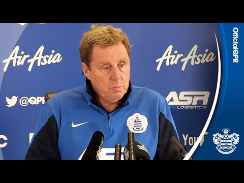 Conference - QPR manager Harry Redknapp discusses a number of pre-match topics ahead of Monday's match against Aston Villa. SUBSCRIBE for more exclusive QPR video content. Remember, it's FREE: ...