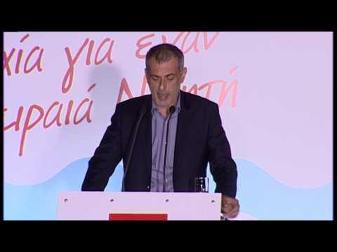 Κεντρική προεκλογική ομιλία Γιάννη Μώραλη στο Πασαλιμάνι