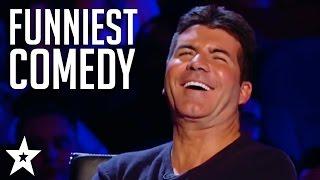 Video TOP 5 COMEDIANS on Britain's Got Talent! Try Not To Laugh! | Got Talent Global MP3, 3GP, MP4, WEBM, AVI, FLV Juni 2018