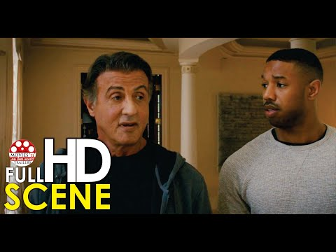 Creed and Rocky reunite after a fallout - Creed II 2018 Full HD