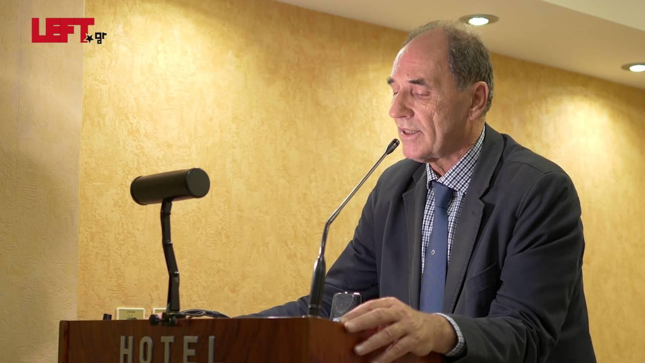 Η Αριστερά απέναντι στην πρόκληση της Διακυβέρνησης -Γιώργος Σταθάκης
