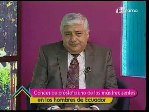 Cáncer de próstata uno de los más frecuentes en los hombres de Ecuador