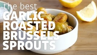 Is you love roasted brussels sprouts, you will love this recipe! They are roasted with garlic and sprinkled with lemon. For the full recipe and directions: ...