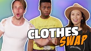 Video EXTREME CLOTHES SWAP CHALLENGE (Squad Vlogs) MP3, 3GP, MP4, WEBM, AVI, FLV September 2018