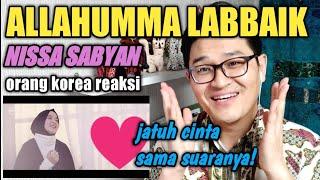 Video REAKSI ORANG KOREA @ NISSA SABYAN GAMBUS 'ALLAHUMMA LABBAIK' LAGU TERBARU! MP3, 3GP, MP4, WEBM, AVI, FLV Februari 2019