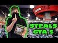 Kid Temper Tantrum Returns To Gamestop To STEAL GTA 5 [ Original ]