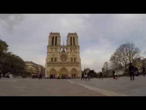 Notre Dame Cathedral | Paris | Time Lapse HD | GoPro HERO4 Black