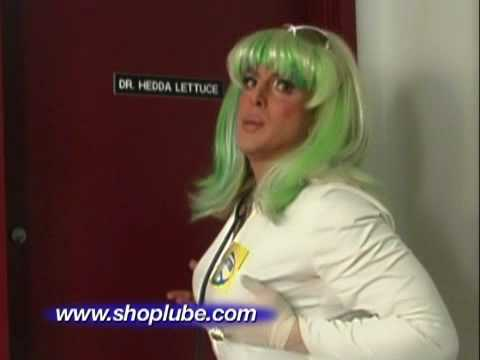 Hilarious Boy Butter Commercial featuring Dr. Hedda Lettuce 2009