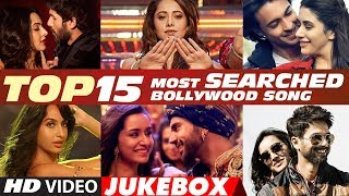 Video T-Series Top 15 Most Searched Bollywood Songs - 2018 | Video Jukebox MP3, 3GP, MP4, WEBM, AVI, FLV Juni 2019