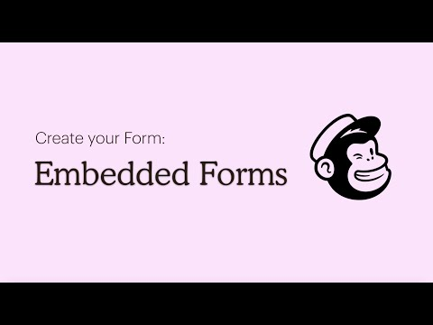 Mailchimp Tutorial: Add A Signup Form To Your Website