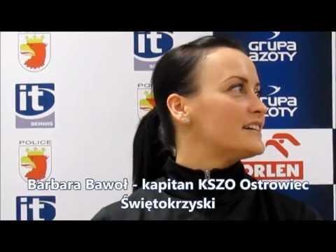 Konferencja prasowa po meczu 1/4 Pucharu Polski Chemik Police - KSZO Ostrowiec, 25.02.2015 r
