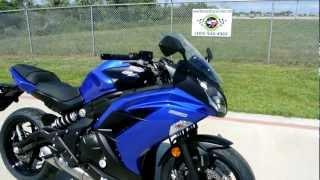 9. On Sale Now $6,299.00: Brand New 2013 Kawasaki Ninja 650 ABS