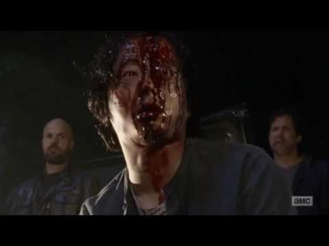 The Walking Dead Season 7 - Abraham and Glenn's Death