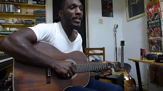 Cedric Burnside at Solo Blues - Poor Black Mattie HD