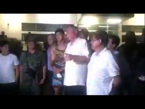 """El futbolista Alan Pulido rescatado """"sano y salvo""""."""