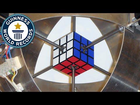 robot risolve il cubo di rubik in meno di 1 secondo