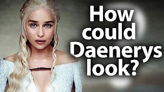 We are now so used to the heroes of the game of thrones, that even can not imagine what they could look like something else.