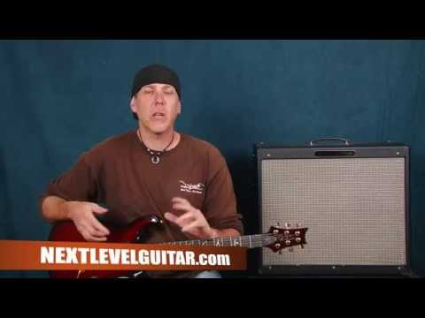 Learn lead electric rock guitar soloing lesson connect scales modes jam techniques pt1