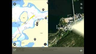 Eniro på Sjön - Gratis sjökort YouTube video