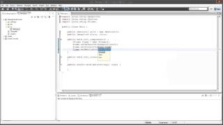Java Tutorials: Naughts And Crosses Game (Part 1/3)