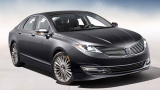 2013 Lincoln MKZ Start Up And Review 2.0 L 4-Cylinder Turbo Ecoboost