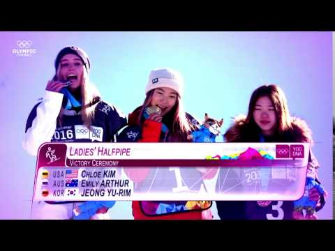 Olympic Channel: Happy Valentine's Day From Chloe Kim