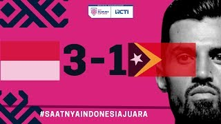 Download Video INDONESIA VS TIMOR LESTE (AFF) 3 - 1 MP3 3GP MP4