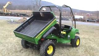 2. 2007 John Deere Gator HPX 4X4 Power Dump Bed Water Cooled For Sale Mark Supply Co