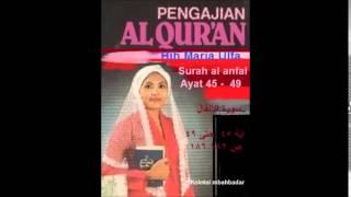 Video Maria Ulfa ( Dra Hjh Maria Ulfa ) surah al anfal MP3, 3GP, MP4, WEBM, AVI, FLV Juni 2018