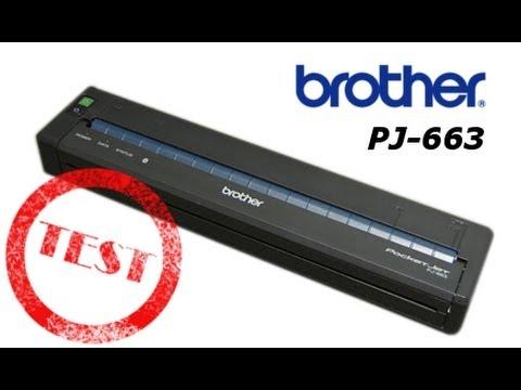 Brother PocketJet PJ-663 - test mobilnej drukarki A4
