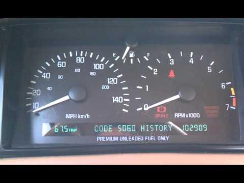 94 Cadillac Northstar P056 transmission code repair