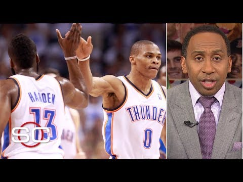 Video: Stephen A. lists the pros and cons of the Russell Westbrook-James Harden Rockets | SportsCenter
