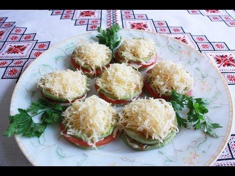 Жареные кабачки помидорами рецепт фото