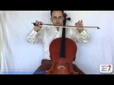 Pull vs Push on the Cello