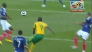 Вратарь выдрочил мяч!