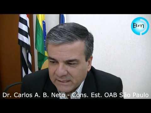 Jales - Presidente da OAB de Jales Dr Marlon e Dr Carlos Alberto falam com o Site A Voz das Cidades
