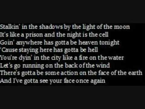 nowhere fast-lyrics